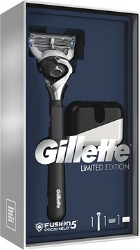 GIFT SET Gillette Fusion 5 Proshield (holící strojek + stojan)