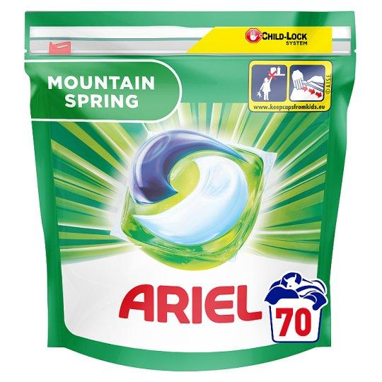 Ariel All-in-1 Mountain Spring Kapsle na praní 70 ks