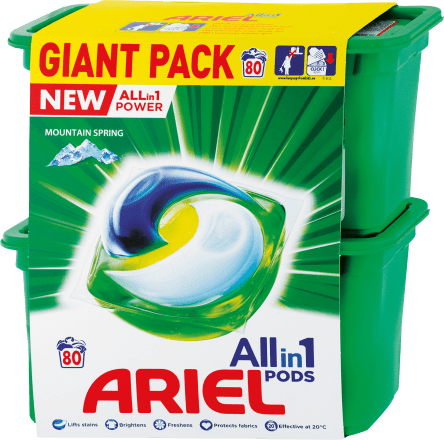 Ariel pods Allin1 22+28pcs - Mountain Spring
