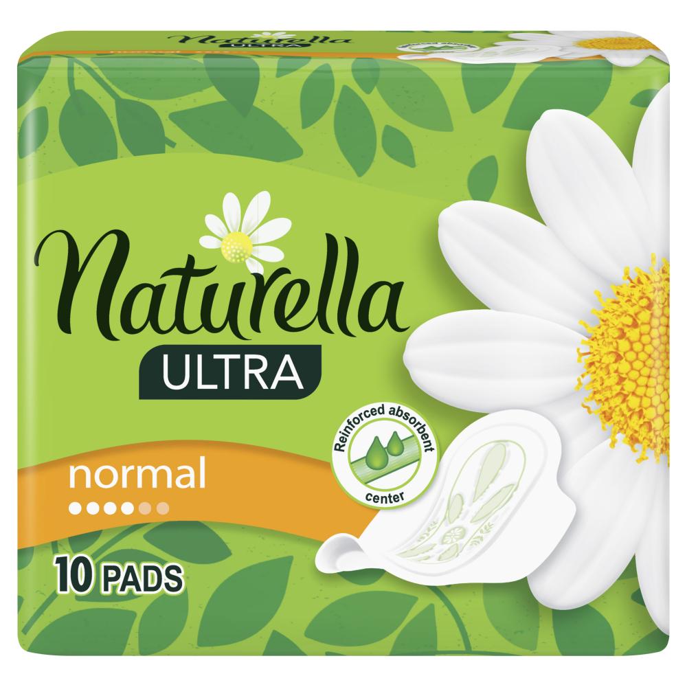Naturella vložky - Ultra - Zelený čaj 10ks