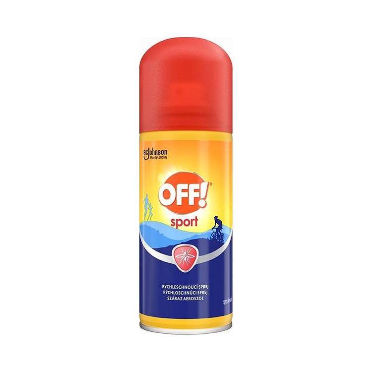 Off! Sport rychleschnoucí spray 100 ml