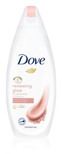 Dove sprchový gel 250ml Renewing glow pink - pink clay