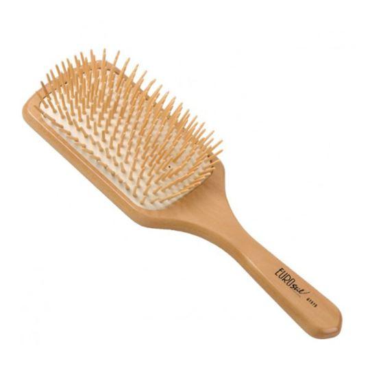 EUROSTIL Dřevěný kartáč na rozčesávání vlasů