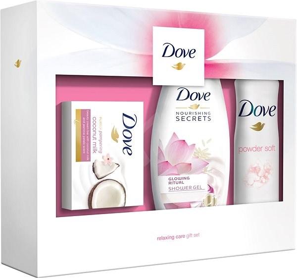Dárkový SET Dove Relaxing Care (SG 250ml +mýdlo 100g + deo 150ml)