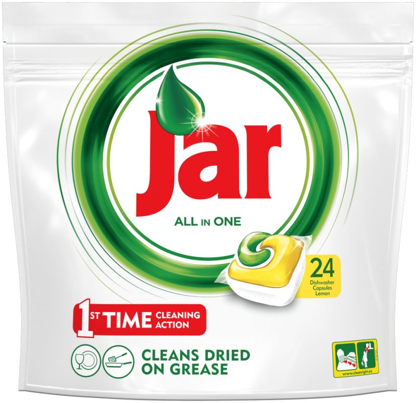Jar All in One kapsle do myčky 24 ks