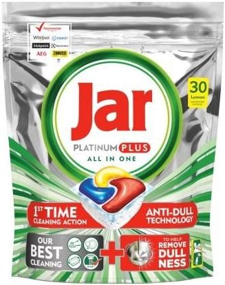 Jar Platinum Plus Lemon Kapsle do myčky 30 ks