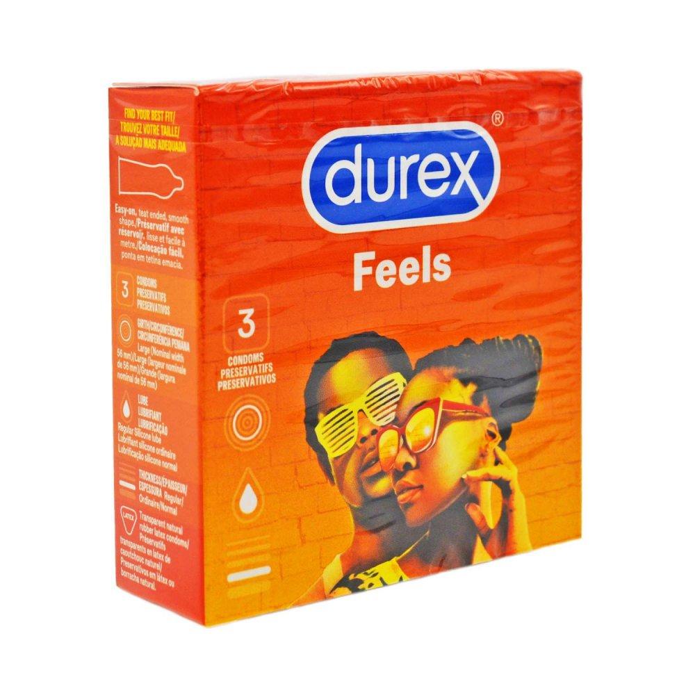 Durex Feels pánské ochrany 3 ks