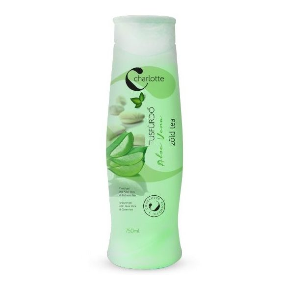 Charlotte sprchový gel 750 ml - Aloe Vera