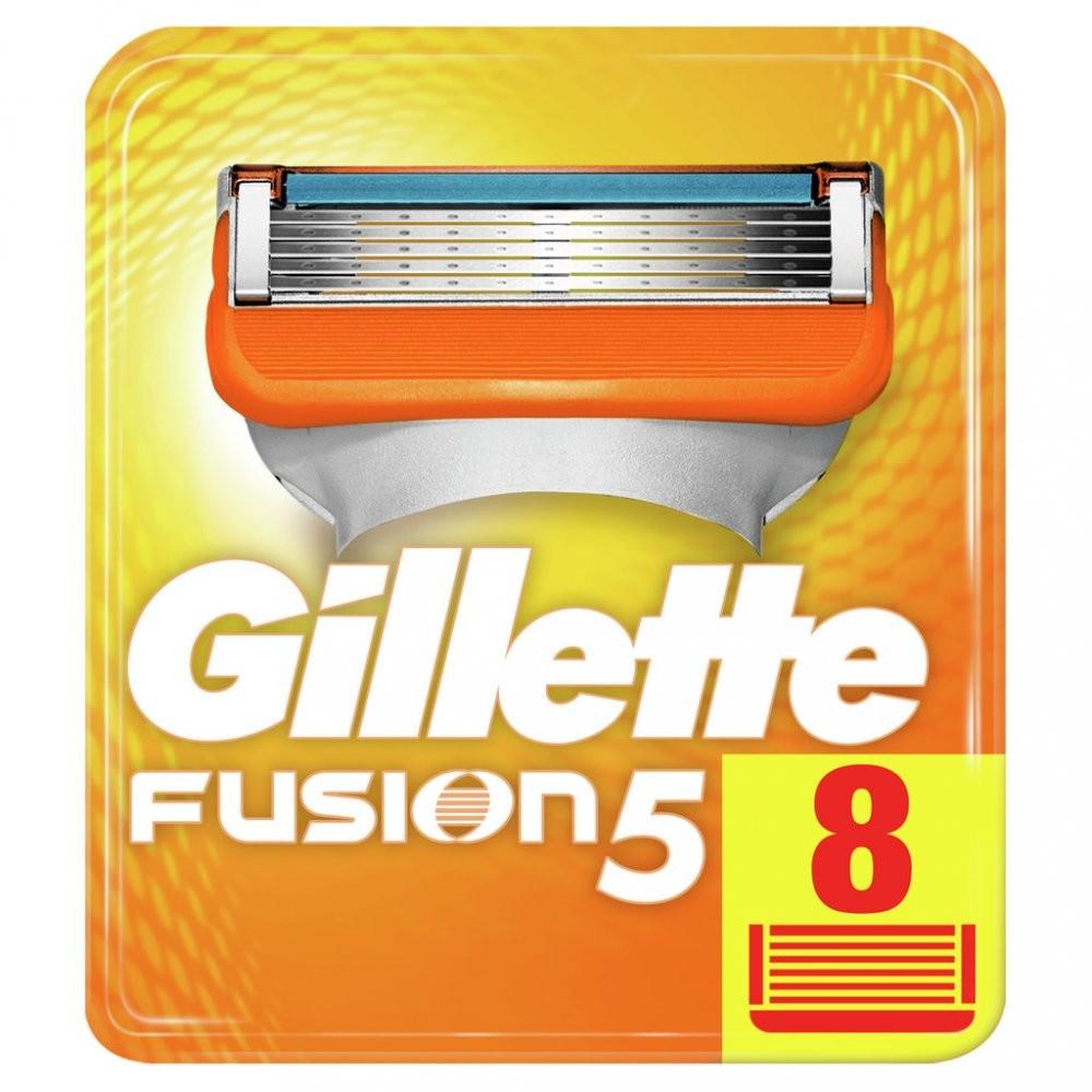 Gillette Fusion 5 náhrada 8 pcs