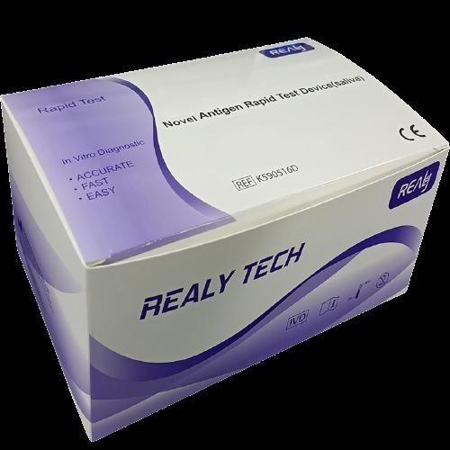 Realy Tech Rapid Test Device rychlotest na COVID-19 (Koronavirus) - test ze slin 5 kusů