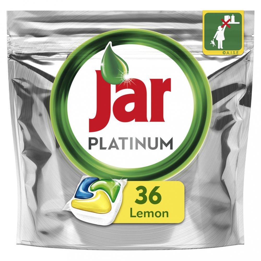 Jar Platinum Kapsle Do Automatické Myčky Nádobí Lemon 36 Ks