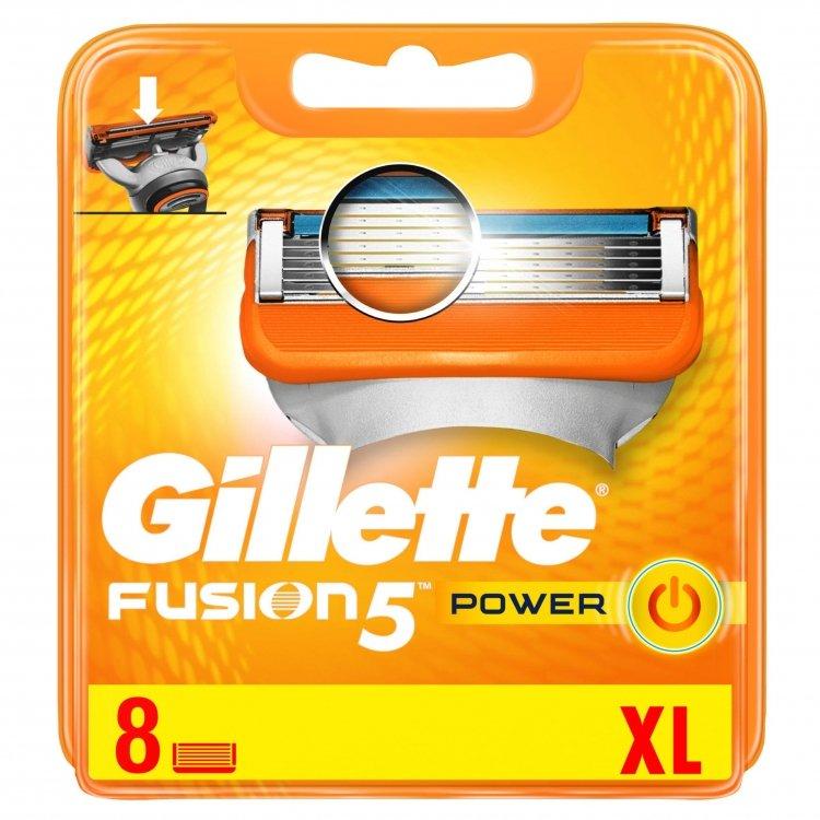 Gillette Fusion 5 Power náhrada 8 pcs