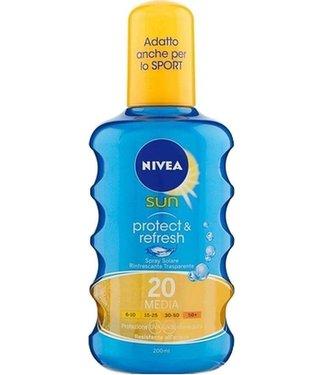 Nivea Sun Invisible Protection neviditelný spray na opalování SPF20 200 ml