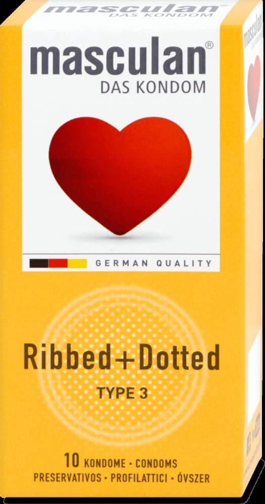 Masculan kondomy Gold 10ks